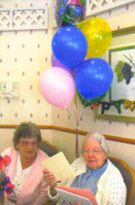 Mom's 100th Birthday