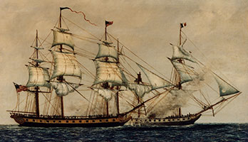USS Constellation-1812